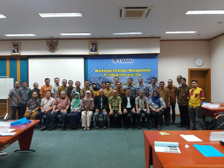 Strategic Management PT Timah (Persero) Tbk